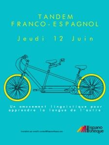 Tandem linguistique : jueves 12 de junio